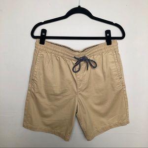 PacSun | Pull On Drawstring Jogger Shorts Khaki M